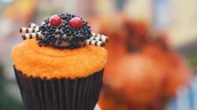 Vanilla Spider Cupcake from Main Street Bakery